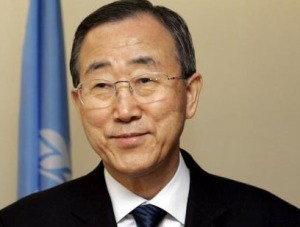 UN SECRETARY GENERAL MEETS WITH SPANISH PRESIDENT